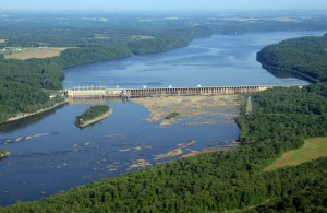 "The Conowingo Dam in Northern Maryland: Where the nude body of Phylicia Barnes was found, and possibly the location Danisha McIntosh was referring when she tweeted, ""It's trapped at the dam."