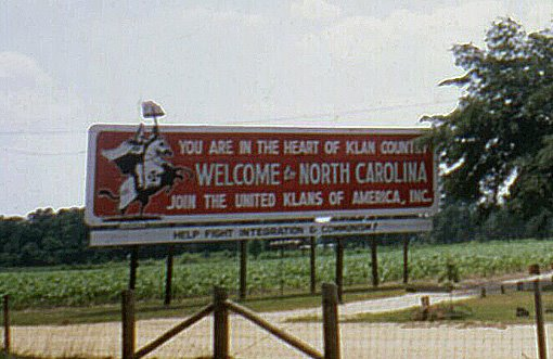 Johnston-County-NC-Ku-Klux-Klan-Sign